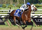 "Whitney Stakes winner Moreno<br><a target=""blank"" href=""http://photos.bloodhorse.com/AtTheRaces-1/At-the-Races-2014/i-ZcSxSbR"">Order This Photo</a>"