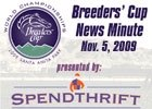 Breeders' Cup News Minute: Nov. 5