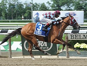 Bessie's Boy won the Tremont Stakes by 6 lengths at Belmont June 20.