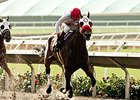 Big Macher wins the Bing Crosby Stakes.