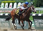 "Fashion Alert won the Astoria Stakes at Belmont Park by 4 3/4 lengths.<br><a target=""blank"" href=""http://photos.bloodhorse.com/AtTheRaces-1/At-the-Races-2014/i-fCzNGfK"">Order This Photo</a>"