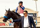 Owner Kaleem Shah with Fed Biz at Del Mar.