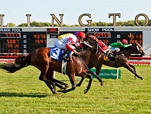 Infinite Magic Pulls Out Tight American Derby