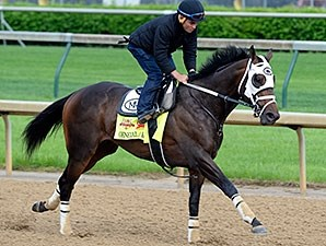 General a Rod breezed at Churchill Downs the morning of April 29.