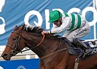 "Madame Chiang and Jim Crowley take the QIPCO Fillies and Mares Stakes.<br><a target=""blank"" href=""http://photos.bloodhorse.com/AtTheRaces-1/At-the-Races-2014/i-HdrZJPP"">Order This Photo</a>"