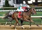 Untapable won the Sept. 7 Pocahontas Stakes.