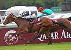 "Karakontie will break from post 11 in the Prix du Jockey Club.<br><a target=""blank"" href=""http://photos.bloodhorse.com/AtTheRaces-1/at-the-races-2013/27257665_QgCqdh#!i=2814170178&k=W7T22bf"">Order This Photo</a>"