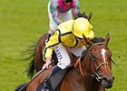 "Rizeena and Ryan Moore take the Coronation Stakes.<br><a target=""blank"" href=""http://photos.bloodhorse.com/AtTheRaces-1/At-the-Races-2014/i-VpGmsQd"">Order This Photo</a>"