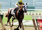 Commendable wins 2000 Belmont Stakes.