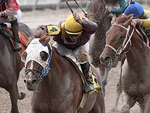 "Louisiana Flyboy won the A.L. ""Red"" Erwin Stakes."