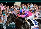 "Dance With Fate comes home strong to win the Blue Grass Stakes.<br><a target=""blank"" href=""http://photos.bloodhorse.com/AtTheRaces-1/At-the-Races-2014/35724761_2vdnSX#!i=3175519579&k=hftMSRj"">Order This Photo</a>"