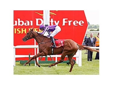 "Australia rolls to victory in the Dubai Duty Free Irish Derby (Ire-I) June 28 at the Curragh. <br><a target=""blank"" href=""http://photos.bloodhorse.com/AtTheRaces-1/At-the-Races-2014/i-76z7gXt"">Order This Photo</a>"