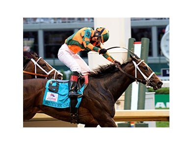 "2012 Kentucky Oaks winner Believe You Can<br><a target=""blank"" href=""http://photos.bloodhorse.com/AtTheRaces-1/at-the-races-2012/22274956_jFd5jM#!i=1829142745&k=SdHpVLd"">Order This Photo</a>"