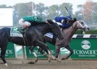 Honor Code (left) finished 2nd in the Champagne behind Havana.