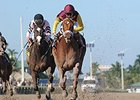 "Sweet N Discreet leaves the others behind in the Florida Sunshine Millions Distaff.<br><a target=""blank"" href=""http://photos.bloodhorse.com/AtTheRaces-1/At-the-Races-2014/35724761_2vdnSX#!i=3029334854&k=JjFMzXP"">Order This Photo</a>"