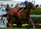 "Ageless finishes strong to take The Very One Stakes<br><a target=""blank"" href=""http://photos.bloodhorse.com/AtTheRaces-1/At-the-Races-2014/i-dgsRVrq"">Order This Photo</a>"