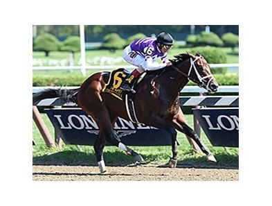 Competitive Edge wins the Hopeful Stakes.