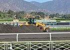 Santa Anita Park abandoned its Pro-Ride track to return to dirt in 2010.