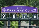 Breeders' Cup officially announced June 24 that Keeneland will host the event in 2015.