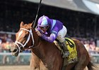 "Princess of Sylmar will face only five foes in the Alabama Stakes.<br><a target=""blank"" href=""http://photos.bloodhorse.com/AtTheRaces-1/at-the-races-2013/27257665_QgCqdh#!i=2646739810&k=8bhLLXH"">Order This Photo</a>"