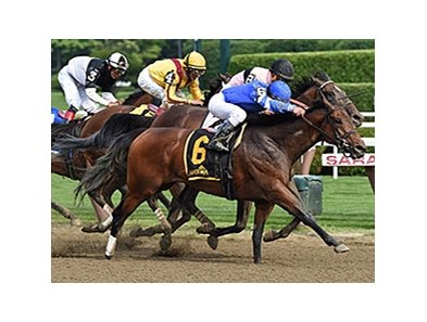 Better Lucky won Saratoga's seven-furlong Shine Again Stakes July 21.