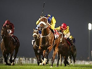 Vercingetorix leads the way in the Jebel Hatta.