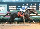 Smarty Jones won the 2004 Rebel in a time of 1:42.07.