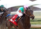 Close Hatches won the Azeri Stakes on March 15 at Oaklawn.