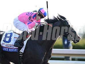 "Dance with Fate <br><a target=""blank""http://photos.bloodhorse.com/AtTheRaces-1/At-the-Races-2014/35724761_2vdnSX#!i=3175856870&k=T3TGB22"">Order This Photo</a>"