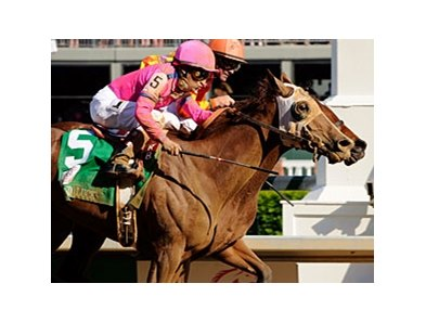 "Kentucky Oaks winner Blind Luck will be heavily favored in the Hollywood Oaks.<br><a target=""blank"" href=""http://www.bloodhorse.com/horse-racing/photo-store?ref=http%3A%2F%2Fpictopia.com%2Fperl%2Fgal%3Fprovider_id%3D368%26ptp_photo_id%3D8937333%26ref%3Dstory"">Order This Photo</a>"