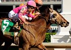 Three Fillies Work Toward Alabama
