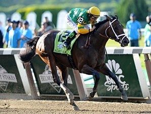 Palace Malice won the 2013 Belmont Stakes.
