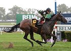 "Annecdote won the 2014 Noble Damsel Stakes. <br><a target=""blank"" href=""http://photos.bloodhorse.com/AtTheRaces-1/At-the-Races-2014/i-8MFWjCb"">Order This Photo</a>"
