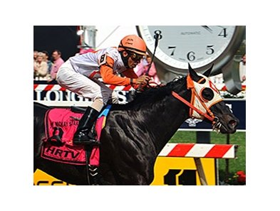 "Ben's Cat<br><a target=""blank"" href=""http://photos.bloodhorse.com/AtTheRaces-1/At-the-Races-2014/i-FSn2QvN"">Order This Photo</a>"