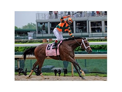 "Kentucky Oaks winner Proud Spell is headed back to the track.<br><a target=""blank"" href=""http://www.bloodhorse.com/horse-racing/photo-store?ref=http%3A%2F%2Fpictopia.com%2Fperl%2Fgal%3Fprovider_id%3D368%26ptp_photo_id%3D5948118%26ref%3Dstory"">Order This Photo</a>"