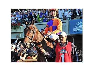 "Medal Count<br><a target=""blank"" href=""http://photos.bloodhorse.com/TripleCrown/2014-Triple-Crown/Belmont-Stakes-146/i-2bfnckn"">Order This Photo</a>"