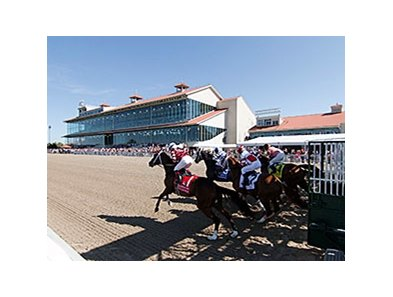 Racing at the Fair Grounds.
