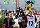 Commanding Curve at Kentucky Derby 140.
