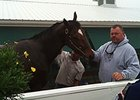 Eric Guillot and Moreno at Pimlico.