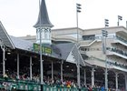 Churchill Downs will race 77 days in 2014.