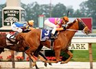 "Ruler On Ice holds off Stay Thirsty to capture the Belmont Stakes.<br><a target=""blank"" href=""http://www.bloodhorse.com/horse-racing/photo-store?ref=http%3A%2F%2Fpictopia.com%2Fperl%2Fgal%3Fprovider_id%3D368%26ptp_photo_id%3D9561757%26ref%3Dstory"">Order This Photo</a>"