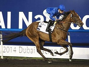 Ihtimal Romps to 10-Length U.A.E. Oaks Win