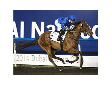 Ihtimal dominates the United Arab Emirates Oaks.