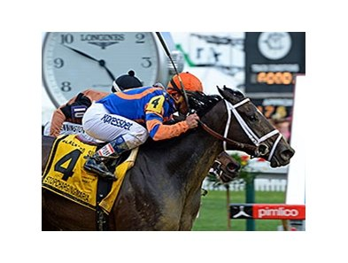 "Stopchargingmaria won the 2014 Black-Eyed Susan. <br><a target=""blank"" href=""http://photos.bloodhorse.com/AtTheRaces-1/At-the-Races-2014/i-LdChwcH"">Order This Photo</a>"