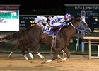 Russell Road defeated Lucy's Bob Boy in the 2014 West Virginia Breeders' Classic.