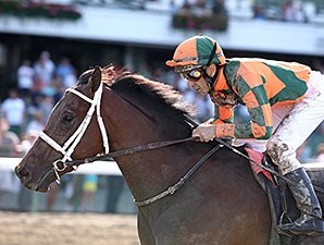 Albano won the Pegasus Stakes at Monmouth Park in June.