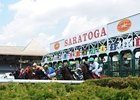 Saratoga Attendance Spikes; Handle Declines