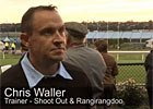 Cox Plate: Trainer Chris Waller and Shoot Out