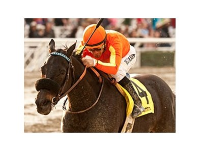 Teddy's Promise won the Santa Monica by three lengths on Jan. 26.