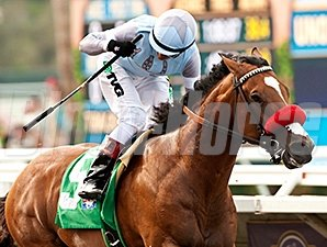 Goldencents won the Pat O'Brien Stakes on Aug. 24.